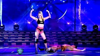 getlinkyoutube.com-Gisela Bernal impactó con dos bailes bien calientes