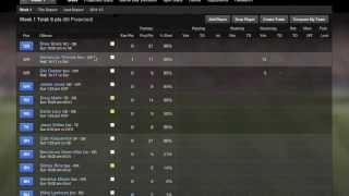 getlinkyoutube.com-Yahoo Fantasy Football: How To Set A Line Up