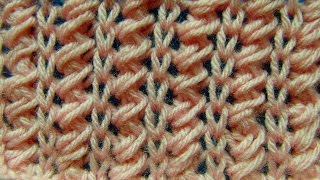 getlinkyoutube.com-WZORY NA DRUTACH-KNITTING STITCH-PIONOWA PLECIONKA.