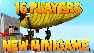 Minecraft Xbox/PS4: NEW 16 Players MINIGAME ?!?! | TU51