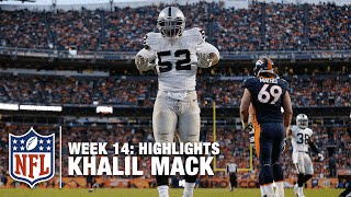 getlinkyoutube.com-Khalil Mack's 5 Sack Day! (Week 14)   Raiders vs. Broncos   NFL