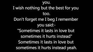 Adele - Someone Like You! Lyrics.