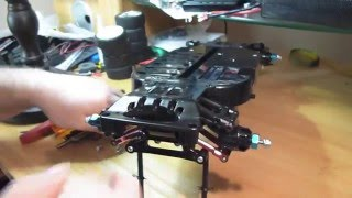 getlinkyoutube.com-Tamiya TT01 suspension slop/play FIX.