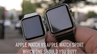 getlinkyoutube.com-Apple Watch vs Apple Watch Sport Dual Unboxing: Which One Should You Buy?