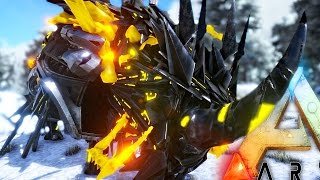 ARK Survival Evolved - NEW KING TEK RHINO & SKYRIM WYVERN IN ARK + BIGGEST CREATURE EVER - Gameplay