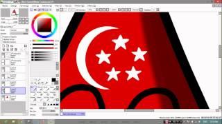 getlinkyoutube.com-POLANDBALL drawing 02 - with [TwoRats] - Drawing Tringapore