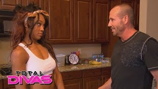 Alicia Fox discovers her boyfriend lied to her: Total Divas Preview Clip, February 9, 2016