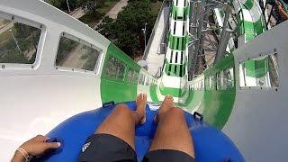 getlinkyoutube.com-Massiv Monster Blaster Water Slide at Schlitterbahn Galveston