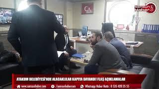 Atakum Belediyesi'nde alacaklılar kapıya dayandı!