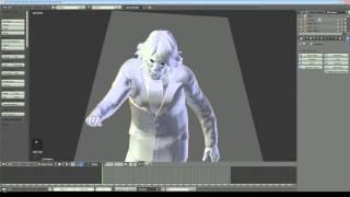getlinkyoutube.com-Blender 2.68 Tutorial - Make a Cloak with Cloth Simulation