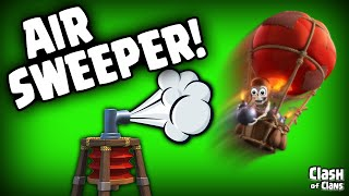 """getlinkyoutube.com-Clash of Clans Update """"The Air Sweeper In Depth"""" It'll Blow You Away!"""