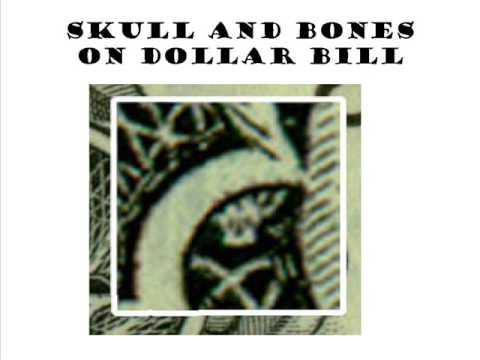 MUST SEE- Skull and Bones on Dollar Bill - not spider or owl