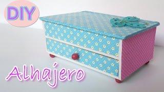 getlinkyoutube.com-Manualidades - Alhajero / Joyero - Manualidades Para Todos