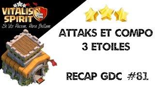 getlinkyoutube.com-Recap GDC Hdv 8 - Compo et Attaques 3 étoiles - Clash of Clans (GoHog  Full Hog)