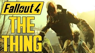 getlinkyoutube.com-Fallout 4 - The Thing Boss - GHOUL BEHEMOTH - Deadly Ghouls of the Commonwealth Mod - X1 PC