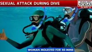 getlinkyoutube.com-Woman Molested Underwater For 40 Minutes By Scuba Instructor