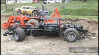 getlinkyoutube.com-Dirt Track Camaro Outlaw Modified Race Car build