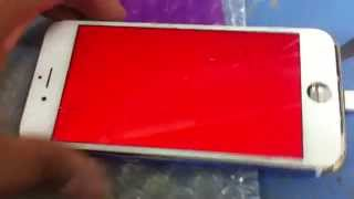 getlinkyoutube.com-Iphone 6 Red color on screen Solution 100% tested by me.