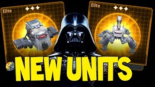 getlinkyoutube.com-Star Wars Commander NEW ELITE IMPERIAL UNITS ! INT-4 & Cold-Weather UMHC (SWC Empire #161)