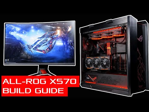 All-ROG X570 Gaming and Editing Hybrid PC Build Guide
