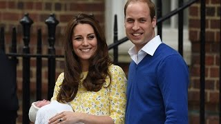 Kate Middleton and Prince William New Baby Named Princess Charlotte Elizabeth Diana