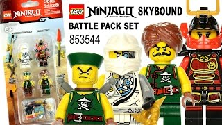 getlinkyoutube.com-LEGO® Ninjago™ Sky Pirates 853544 Battle Pack Set w/ Tournament Zane Samurai X & Foot Soldiers