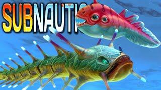 getlinkyoutube.com-Subnautica - SHOCKER, BITER, BIRD SWARMS - New Creatures Update Gameplay