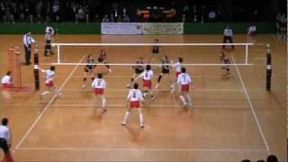天皇杯皇后杯2009女子準々決勝「東九州龍谷×パイオニア」.mpg