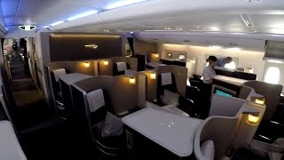 getlinkyoutube.com-British Airways FIRST CLASS on the A380 full flight video review HD