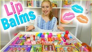 getlinkyoutube.com-Lip Balm Collection & Haul - EOS, Baby Lips, Lip Smackers and More!