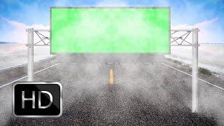 getlinkyoutube.com-HD Wedding Background Videos 1080p-Billboard Green Screen with Cool Smoke Animation