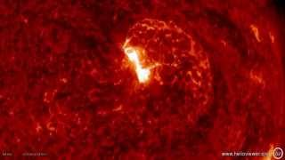 getlinkyoutube.com-SOLAR ACTIVITY UPDATE: Earth Directed CME/Severe G4 Storm/Proton(June 23rd, 2015).