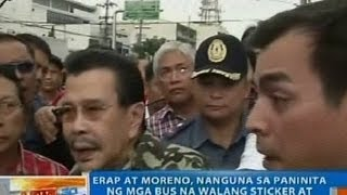 getlinkyoutube.com-NTG: Erap at Moreno, nanguna sa paninita ng mga bus na walang sticker at bumiyahe pa rin sa Maynila