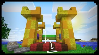 getlinkyoutube.com-✔ Minecraft: How to make a Working Bouncy Castle