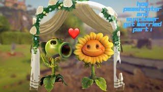 getlinkyoutube.com-How Peashooter And sunflower got married part 1
