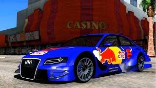 getlinkyoutube.com-GTA San Andreas - Audi A4 2008 DTM EnRoMovies