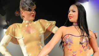 getlinkyoutube.com-EUDOXIA'S LATEX FASHION SHOW AT MONTREAL FETISH WEEKEND 2014 CATSUIT