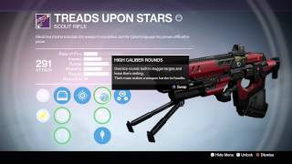 "Destiny: BEST PVE WEAPON! POSSIBLY? ""Treads Upon Stars"""
