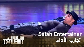 getlinkyoutube.com-Arabs Got Talent - الجزائر - المغرب - Salah Entertainer