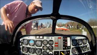 getlinkyoutube.com-C-ARF CT-114 Tutor RC Jet onboard video