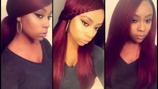 getlinkyoutube.com-Outre Dominican Blowout Straight | Wig Collab w/DeeDee!!!