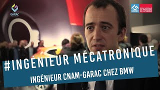 Ingénieur CNAM-GARAC chez BMW France