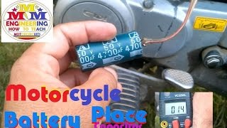 getlinkyoutube.com-Motorcycle Battery Solve all Problems with Place On Capacitor