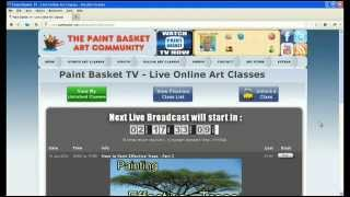Free art videos and classes on Paint Basket TV PaintBasket 9,370 views 4 ...