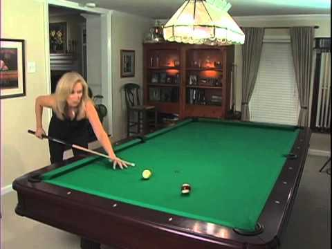 Ewa's Pool School: Aiming-The Ghost Ball