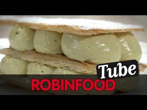 ROBINFOOD / Crema pastelera + Crema de pistacho