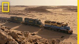 This Sahara Railway Is One of the Most Extreme in the World | Short Film Showcase width=