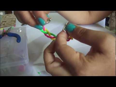 3 modelos de pulseras en cuero trenzado paso a paso DIY