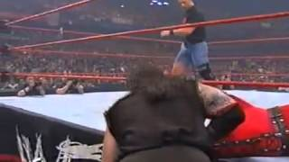 getlinkyoutube.com-WWF - Undertaker Vs Kane With Stone Cold As Guest Referee - WWF Championship - Judgement Day - 1998