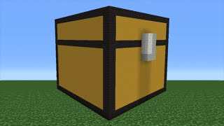 Minecraft Tutorial: How To Make A Chest Statue
